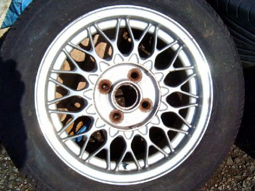 "Wheel, BBS alloy, 14"", 4x100PCD, USED"